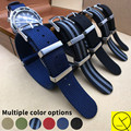 James Bond 007 Contra Spectre Sport Watchband Mens Nylon Strap Bracelet 20mm 22mm for Rolex Submariner for Omega Watchband+Tools