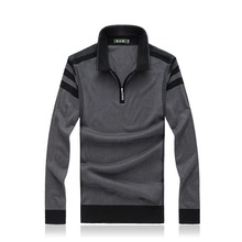 2016 Autumn Men Brand Casual Knitting Pullover Wool Sweater Men's Comfortable Turn-Down Collar Business Pull Homme 5XL 6XL