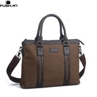 Male Commercial Canvas Bag Handbag Briefcase Fashion Man Bag Messenger Bag Laptop Bag