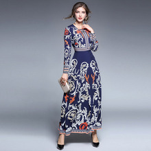 European Stations New Heavy Industry Drill-in Flower Decoration Dresses free shipping