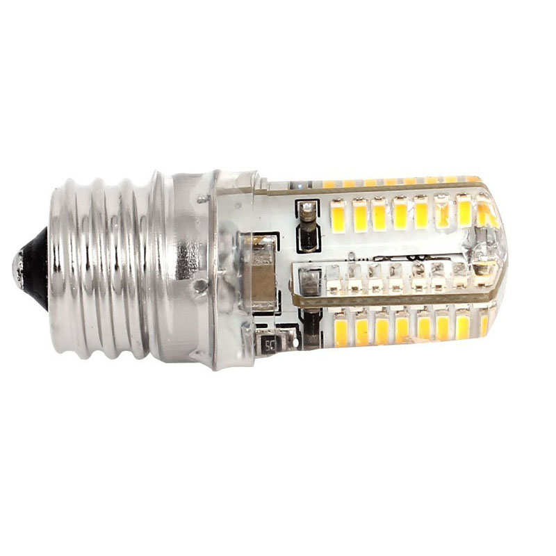 ZYHW Brand E17 Socket 5W 64 LED Car Lamp Bulb 3014 SMD Light Warm White AC 110V-220V brand new high quality g24 10w 900 1168lm warm white 52 smd 3014 led lamp bulbs ac 100 240v