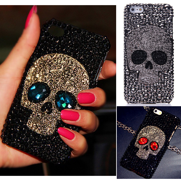 iphone xs case skull