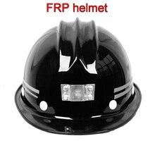 Chất lượng cao FRP đội mũ bảo hiểm ánh sáng Phía Trước có thể được cài đặt mũ bảo hiểm Cả Hai bên Xếp con trỏ An Toàn mũ bảo hiểm