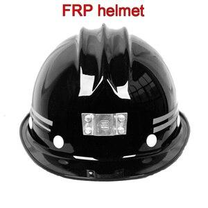 Image 1 - Chất lượng cao FRP đội mũ bảo hiểm ánh sáng Phía Trước có thể được cài đặt mũ bảo hiểm Cả Hai bên Xếp con trỏ An Toàn mũ bảo hiểm