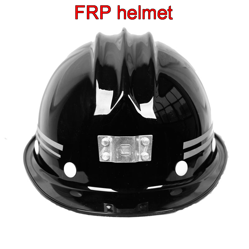 High Quality FRP Helmet Front Light Can Be Installed Helmet Both Sides Reverse Cursor Safety Helmet