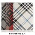 Роскошный Дизайн Чехол Для iPad Pro 9.7 дюймовый Моды Сетки Плед Смарт крышки PU Кожаный Стенд Для iPad Pro mini Tablet Книга Сумка