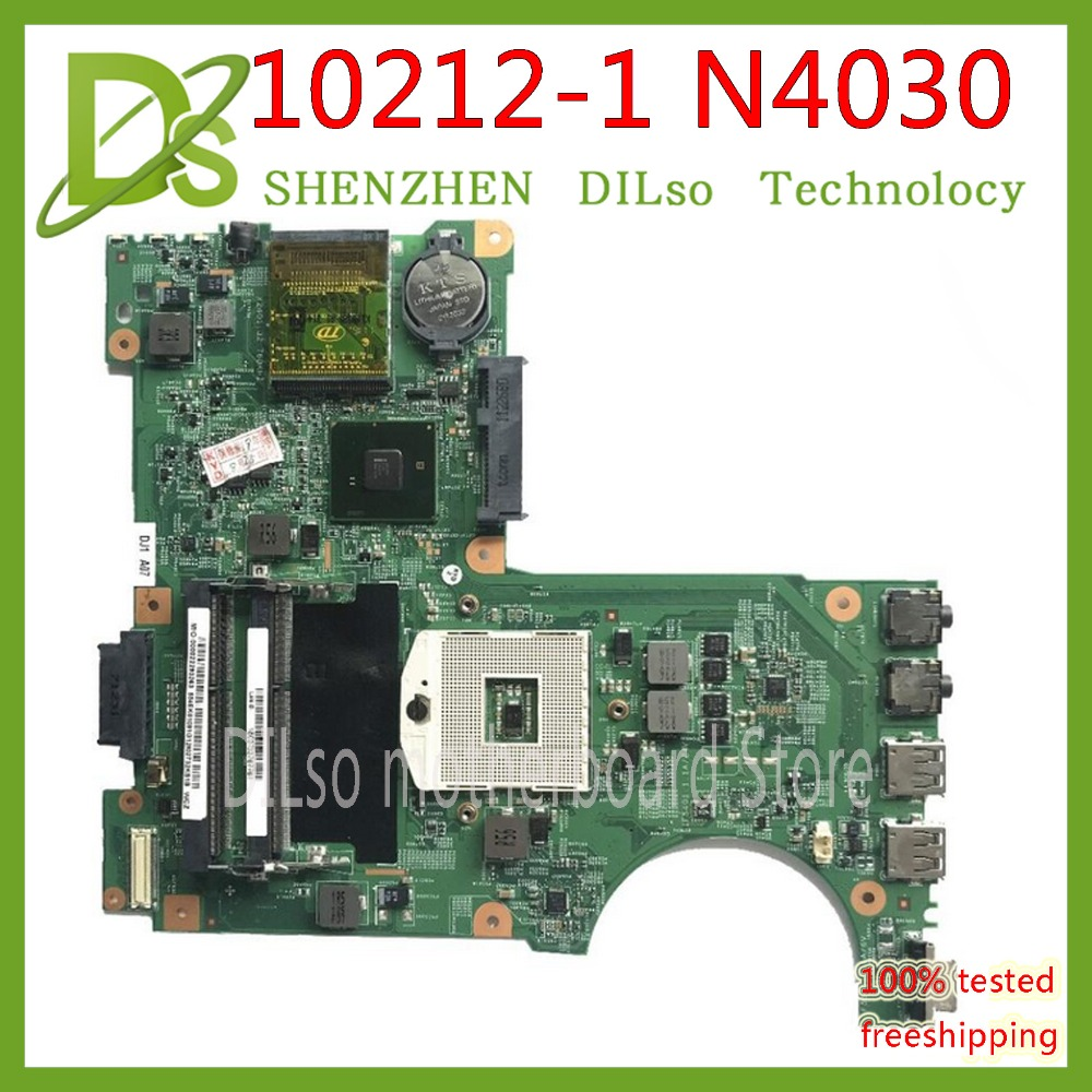 KEFU 10212-1 для Dell Inspiron N4030 Материнская плата ноутбука DDR3 PGA989 0H38XD CN-0H38XD HM57 mainboard оригинальный Тесты материнская плата