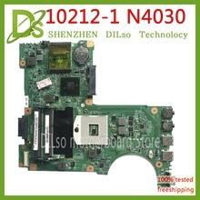 KEFU 10212-1 For Dell Inspiron N4030 Laptop motherboard DDR3 PGA989 0H38XD CN-0H38XD HM57 mainboard original Test motherboard for dell inspiron 5420 kd0cc 0kd0cc cn 0kd0cc da0r08mb6e2 pga989 hm77 ddr3 laptop motherboard mainboard tested
