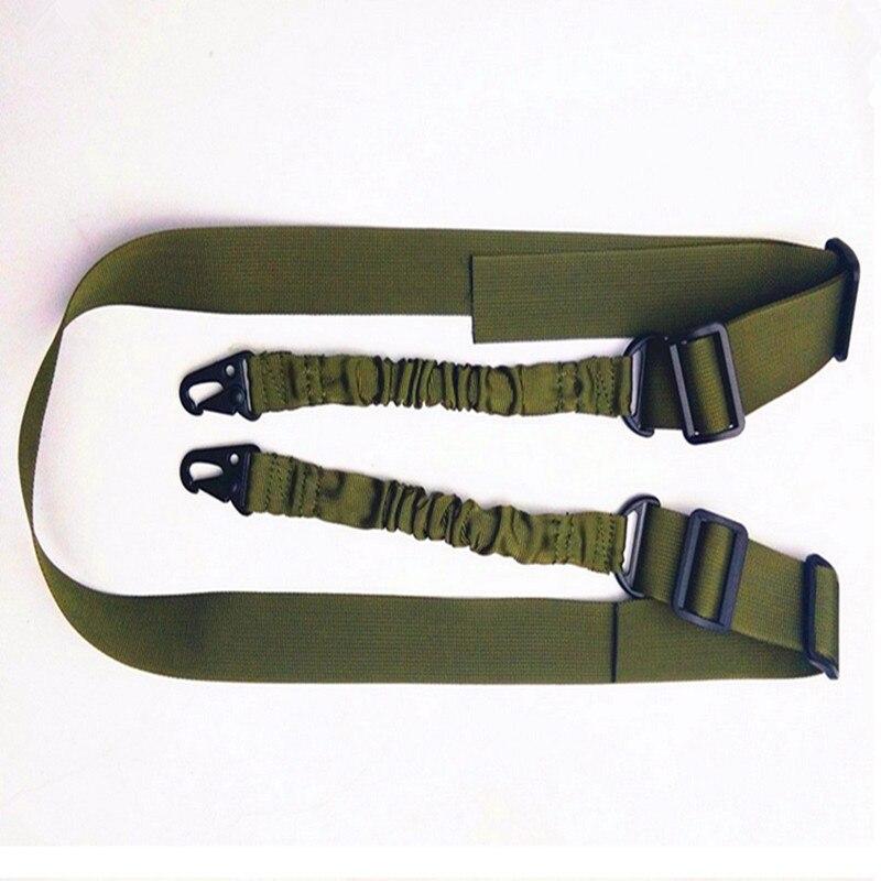 2018 New belt adjustable size FS military rifle sling tactical gun sling nylon gun sling huntting gun tactical military 3 point rifle gun sling strap army green 235cm