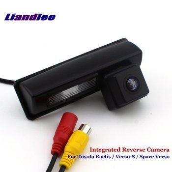 Tylna kamera samochodowa Liandlee do Toyota Ractis verso-s Space Verso kamera cofania kamera cofania zintegrowana SONY HD tanie i dobre opinie CN (pochodzenie) Tworzywo sztuczne + szkło Przewodowa Zapasowe kamery do auta Z tworzywa sztucznego Vehicle Backup Camera