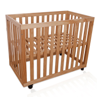 Baby Bed Multifunctional Baby Cribs High Quality Wood Adjustable Cribs For Infants Safe Bed Side Bed With Wheels Babybett Cots