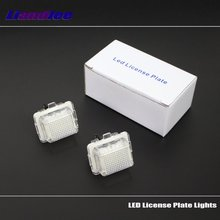 Liandlee For Mercedes Benz C Class W204 2007~2014 / LED Car License Plate Light / Number Frame Lamp High Quality LED Lights стоимость