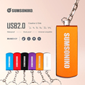 SUMSONIKO USB Flash Drive High speed rotating External Storage Pen Drive Gift Memory Stick 16GB 8GB 4GB U Disk 2.0