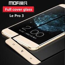 LeEco Le Pro 3 Защита экрана Mofi закаленное стекло LeTV Le Pro 3 стекла le PRO3 x720 x722 пленка защитная золото Стекло полный
