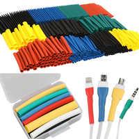 Set de 530 unidades de tubos termorretráctiles de protección del medio ambiente para iphone, protector de cables usb, enrollador organizador de cables, 530 unidades