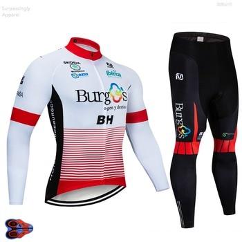 Pro BH Burg Team Cycling Jackets 9D Pad Pants Suit Ropa de...