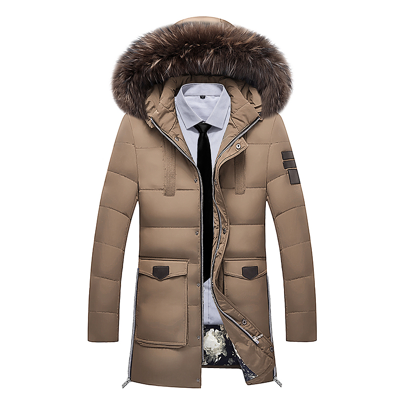 2017 Winter Jacket Men White Duck Down Long Jackets Keep Warm Coat Men's thick coat & Jackets parka homme Brand clothing 3XL jackets men north winter coat thick warm cotton parka homme jacket mens brand clothing napapijri parkas man fashion down jackets