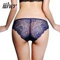 Iiiher qualidade da marca ice tecido de seda ultra-fino sexy underwear seamless calcinhas para mulheres cuecas sensuais mulheres calcinha