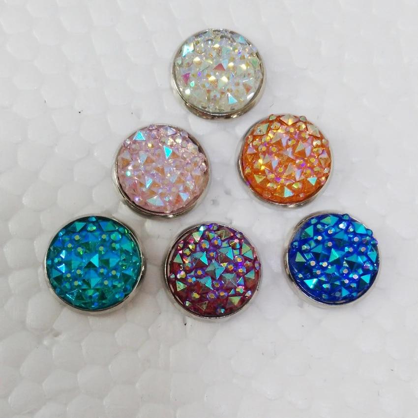 Druzy Cabochons Druzy Stud Earrings Druzy Stud Jewelry 12 mm Neon Pink Druzy Stud Earrings