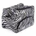 Professional Salon Hair Tool Bag Zebra Hairdressing Bag Portable Carry Case Tool Case For Hair Styling Tools Storage Clipper Box