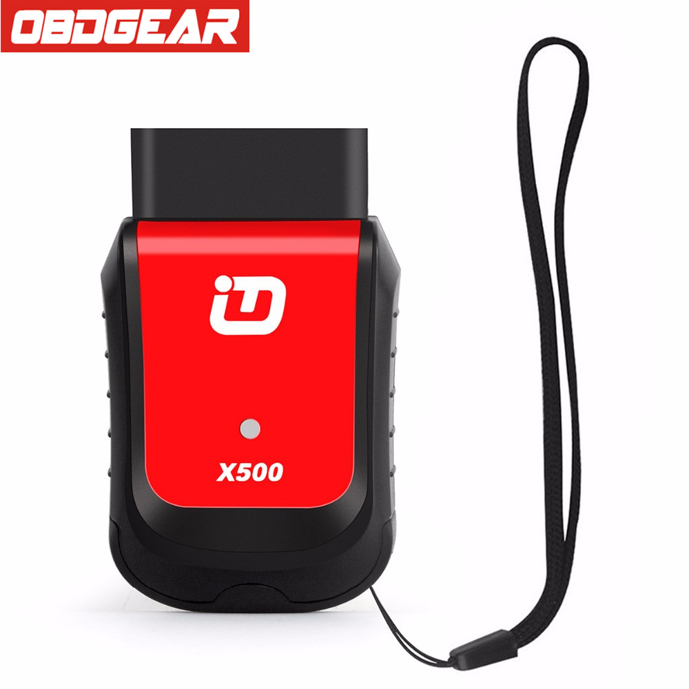 2017 XTUNER X500 VPecker Auto Diagnostic Scanner Universal OBD2 Car Diagnostic Tool for Engine,ABS,Battery,DPF,EPB,Oil,TPMS,IMMO chic polishing candy color gemstone decorated fan shaped pendant necklace for women