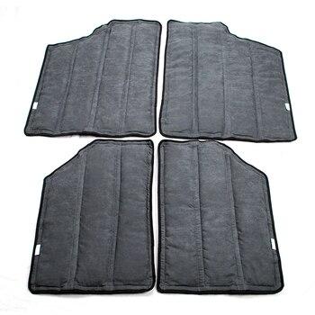 Car Black Hardtop Sound Deadener Headliner Insulation Kit For Jeep JK Wrangler 4 Doors or 2 Doors 2012-2017 Accessories