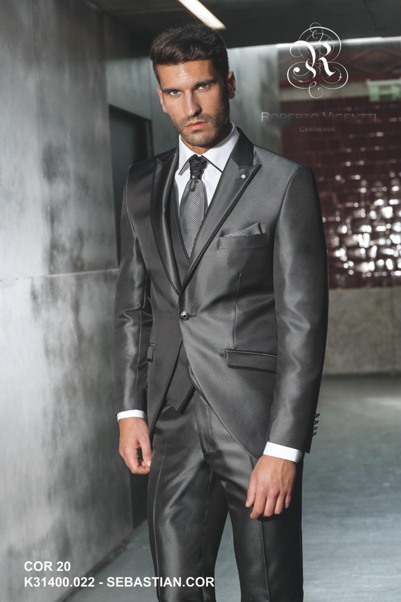 Homme Cravate Classique à Rayures Argent Blanc Jacquard tissé Cravate 100/% Soie Cravate F024