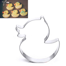 Stainless Steel Pineapple Cake Mousse Ring Mold Cookie Mold Candy Pastry Cookie Cutters Cute Little Yellow Duck Big Yellow Duck