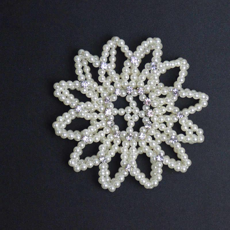 Pha lê Giả Ngọc??? Áo croptop Tóc Lưới Snood Lưới Tay Có Thể Điều Chỉnh: Thun Váy Múa 1PC
