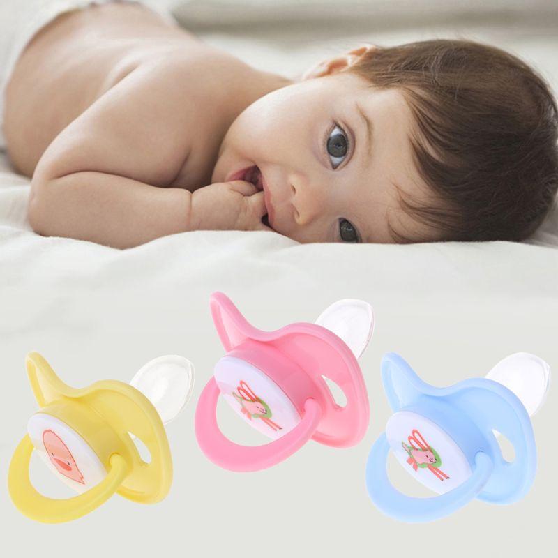 Neugeborenes Baby Kieferorthopädische Schnuller Silikon Saugernippel Schnuller