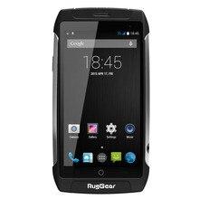 Wasserdichte handy RugGear RG710 GRANDTOUR Entsperrt 5,0 zoll Android smartphone 4-adriges NFC Dual SIM Dual-kamera 8 GB/1 GB Schwarz