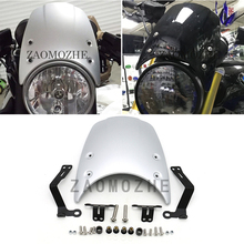 motorcycle ABS Plastic Wind shield Windshield Windscreen Headlight fairing For BMW R NINE T 2014 2015 2016 2017 R9T R NINET abs motorcycle windscreen windshield cover for 2016 2017 2018 bmw g310r g 310r 310 r wind shield deflector with mounting bracket
