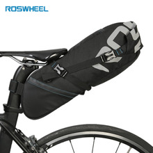 ROSWHEEL Large Capacity 10L Cycling Bicycle Saddle Tail Rear Seat Waterproof Storage Bag Bike Accessories 131414 Top Brand