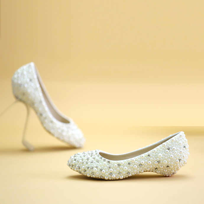 wedopus plus size lovely butterfly wedding shoes