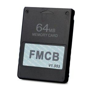 Image 3 - مجاني McBoot FMCB 1.953 لسوني بلاي ستيشن 2 PS2 8 ميجابايت/16 ميجابايت/32 ميجابايت/64 ميجابايت بطاقة الذاكرة بطاقات التوقف OPL MC التمهيد وحدة البيانات عصا