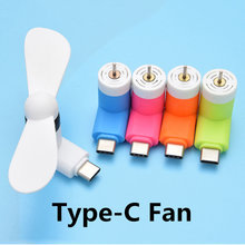 FFFAS Typ-c Nette Flexible Mini Kühle Hand Fans für Xiaomi 4c 5 5 s 6 Huawei P9 P10 weiche Art C Jack Interface Handy Fan(China)