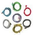 1 m/2 m/3 m fio cabo de cabo do carregador de sincronização de dados colorido usb para iphone 5 5s 5c 6 s 6 8 pinos ios 9.3.4