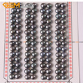 6mm Cultured Pearl Beads Black Pink White Pearl beads Half Drilling Earrings Wholesale 52 Pairs Wholesale