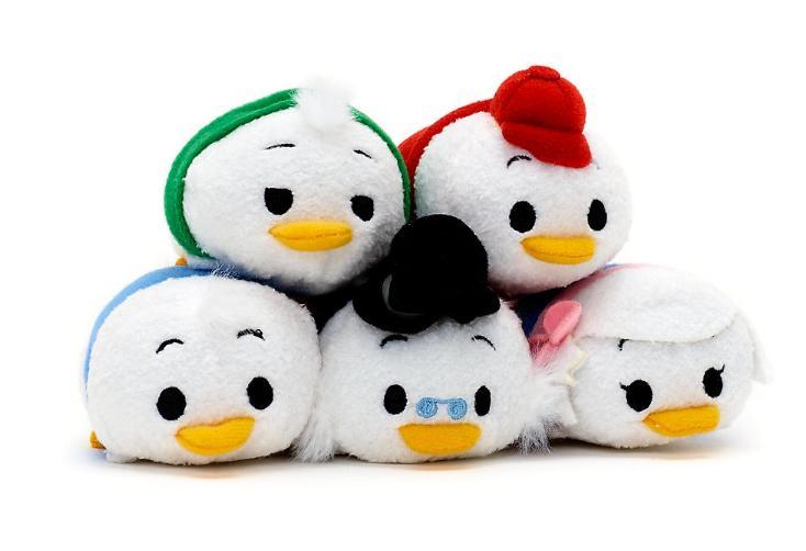 New Mini  Surprise Release DuckTales Huey, Louie, Dewey, Webby Mini Plush Toy 5pcs