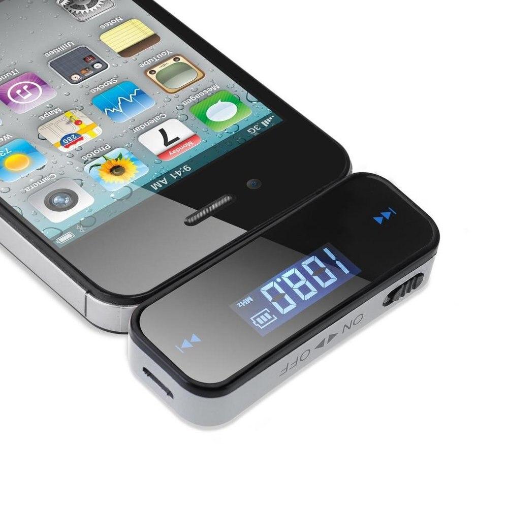 Chaude Voiture Transmetteur FM Pour Téléphone Intelligent Bluetooth Sans Fil Auto Lecteur Audio Devices Modulateur Fm LCD Affichage De Voiture Accessoires