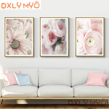 5D DIY Diamond Blooming Flowers Picture 3D Rhinestone Cross Stitch Full Square Embroidery Mosaic Home Decor