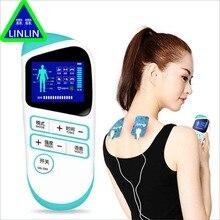 LINLIN nowy dom fizjoterapia instrument do masażu wielofunkcyjny mowy elektronicznych urządzenia do masażu małe urządzenia do masażu