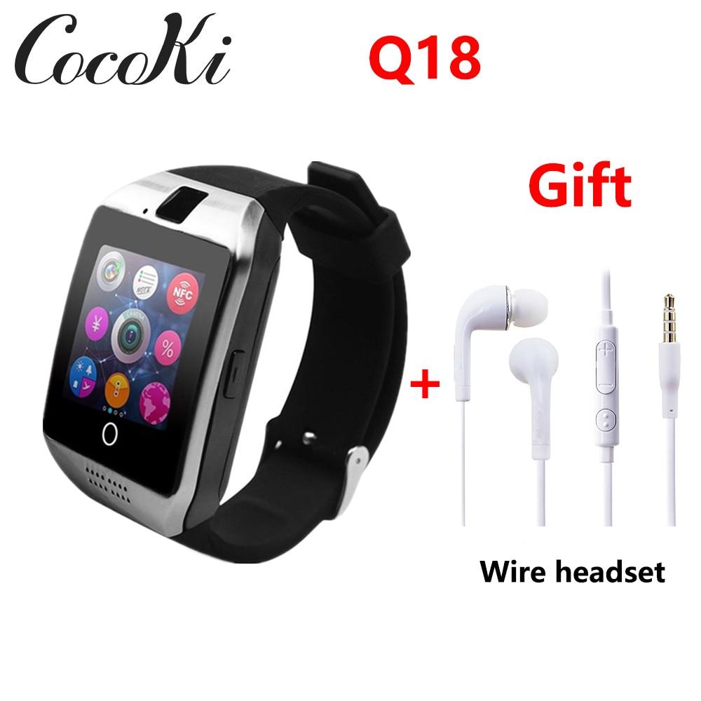0a5efb2cd137 ... teléfono Android Smartwatch PK y1 A1 GT08. Cheap Reloj inteligente  hombres Q18 con pantalla táctil Batería grande apoyo TF tarjeta Sim Cámara  HUAWEI