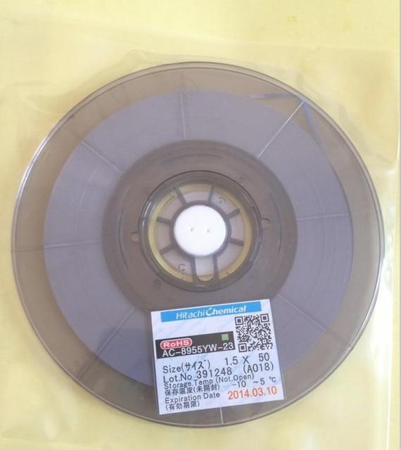 original ac 8955yw w2 0mm l50m 2 0mm 50m acf conductive film rh aliexpress com