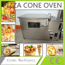 Free Shipping by DHL/TNT/UPS Snack Machine;Pizza cone mould machine; cones pizza roaster machine