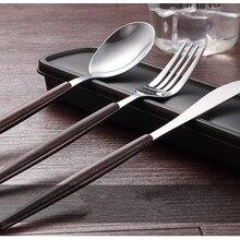 4 шт./компл. набор посуды 304 Нержавеющая сталь Западная набор столовых приборов Кухня Еда посуда Щепка ужин набор столовых приборов PK 001