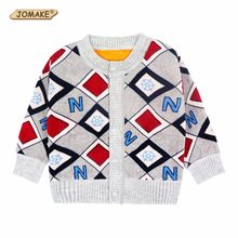 Baby Boy Cardigan Casual Boys 2018 Spring&Autumn Children Outerwear Coats Letter Boys Jackets 2-4T Comfortable Costume For Kids(China)