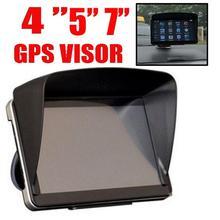 5/7inch Screen Sun Shade Visor Shield Car GPS Cover Block Blind Cap Accessories