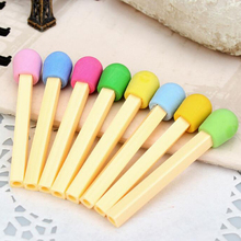 30 pcs/Lot Cute Eraser Lovely Colored for Kids Students Kid Creative Item Gift Prize School Supplies Stationery Free Ship