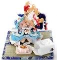 Окрашены и Цветные Смолы Рисунок Touhou Project Yakumo Юкари и Saigyouji Ююко Модель Комплект